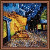 """Раскраска по номерам """"Ван Гог. Ночное кафе"""""""