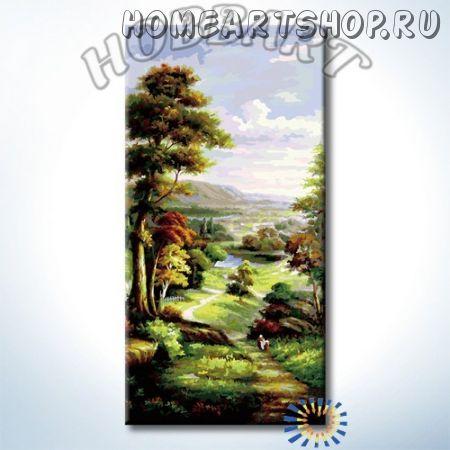"""Картина по номерам """"Тропой из леса"""""""