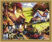 "Раскраска по номерам ""Лето в деревне"""