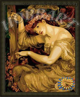 "Картина по номерам ""A sea spell. Dante gabriel rossetti"""