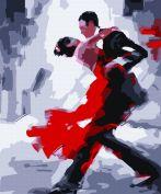 """Раскраска по номерам """"Танго"""""""