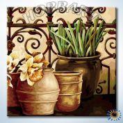 "Картина по номерам ""На веранде садовода"""
