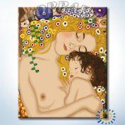 """Картина по номерам """"Три возраста женщины. Г. Климт"""" 40х50"""