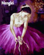 """Раскраска по номерам """"Балерина """""""