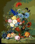 """Раскраска по номерам """"Цветы и фрукты"""""""