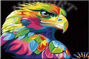 """Картина по номерам """"Ваю Ромдони. Радужный орёл"""""""