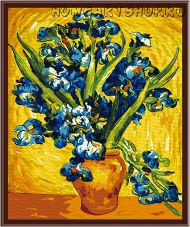 "Раскраска по номерам ""Ирисы.Ван Гог"" 40х50"