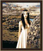 "Картина по номерам ""Каменный цветок"""